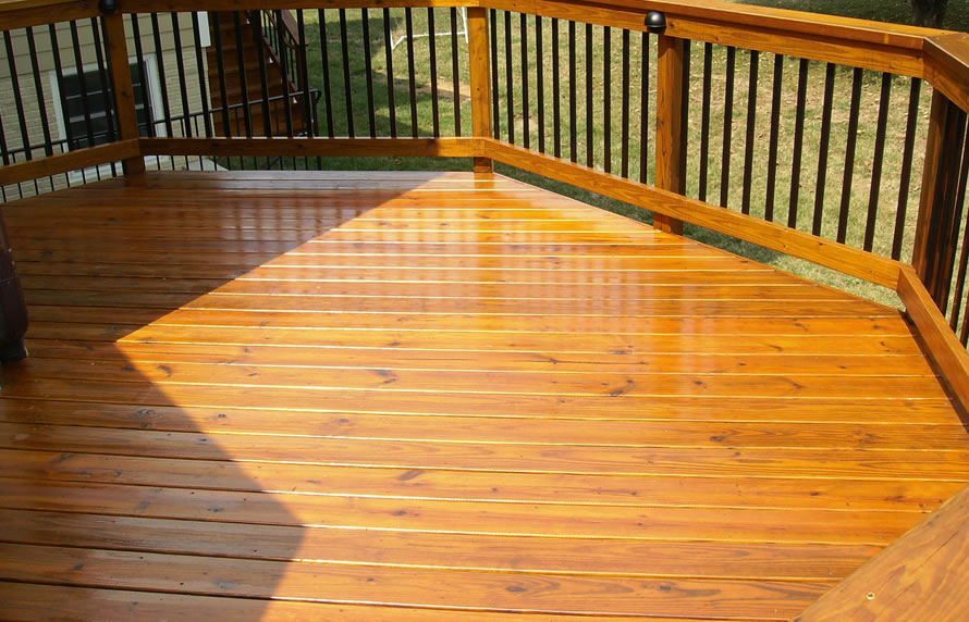 Wooden Deck Installation 01