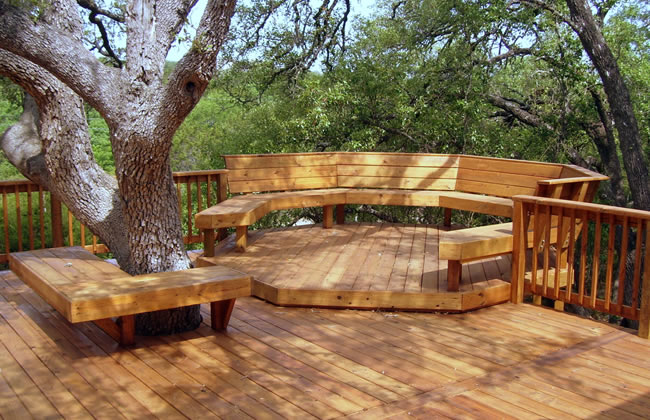 Wooden Deck Installation 02