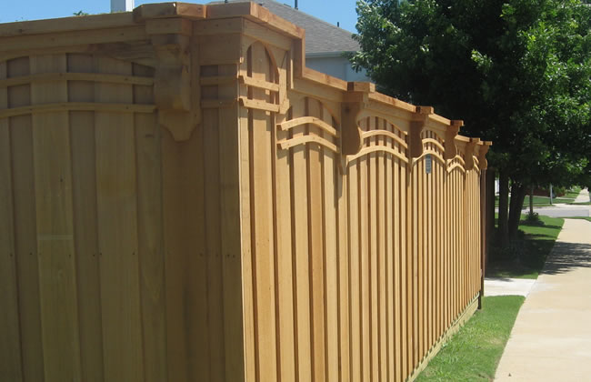 Wooden Fence Installation 02